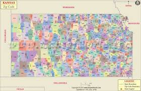 zip code map wichita ks kansas zip code map kansas postal code