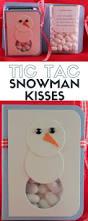 tic tac snowman kisses the crafty blog stalker