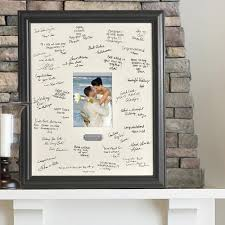 personalized wedding photo frame personalized wedding guest book signature frame candy cake weddings