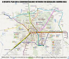 Map Chicago Suburbs by Bangalore Imaginary Transit Map For A Proposed Imaginary