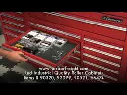 red industrial quality roller cabinets harbor freight tools