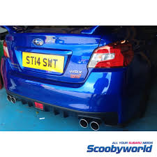subaru exhaust system scoobyworld scoobyworld 2015 sti cat back exhaust system