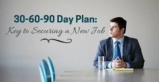 30 60 90 day plan key to securing a new job wisestep