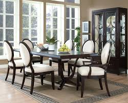 dining room set seats 6 chair of seat covers target with ties uk
