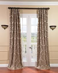 decor u0026 tips chic taupe velvet drapes with drapery accessories