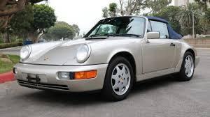 1990 porsche 911 convertible 1990 porsche 911 cabriolet for sale near marina del rey california