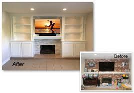 custom entertainment center appleton renovations part 8