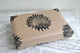 sunflower wrapping paper gorgeous crafted gift wrap