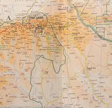 Eritrea Map Ethiopia Eritrea Djibouti Somaliland Geographical Map Gizi