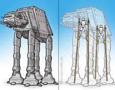 awesome star wars model abandoned walker star wars models