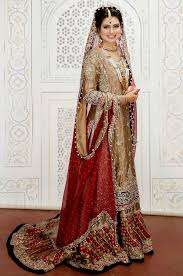 traditional pakistani bridal wear wedding dresses collection 2017
