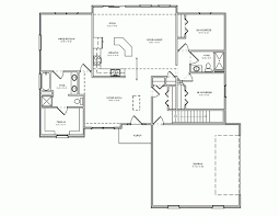 3 Bedroom House Plans With Basement Home Design 2 Bedroom House Plans With Car Garage Decorating