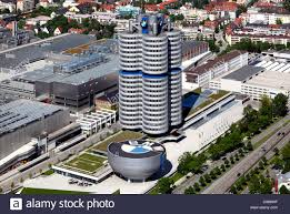 bmw bavarian motors bmw high rise building and bmw museum headquarters of the