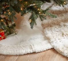 faux fur tree skirt christmas is coming interior design for shoes shop