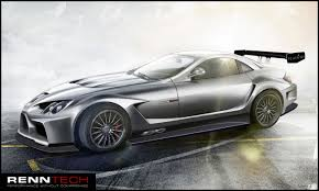 mclaren concept first look at the renntech 777 concept mercedes benz slr mclaren