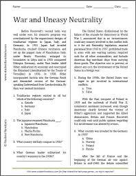 free printable reading comprehension worksheets for high