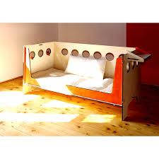 futon per bambini lettino trasformabile in divanetto in legno naturale totem