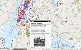 map of nyc browse all of new york city s landmarks in one interactive map