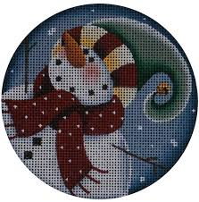 painted needlepoint wood designs