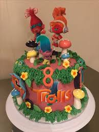 21 best troll birthday cake images on pinterest birthday cakes