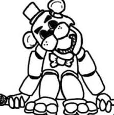 fnaf mangle coloring pages 16 best coloring pages images on coloring books