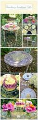 How To Paint And Stencil by Stenciling A Sweetheart Table For A Garden Event Stencil Stories