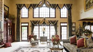 paint colors for living room and kitchen with modern curtain ideas