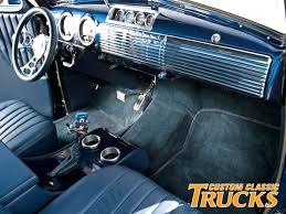Chevy Truck Interior 1949 Chevy Truck Custom Classic Trucks Rod Network
