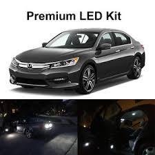 Honda Accord Lights 14 X Xenon White Led Interior Reverse Tag Lights For 2016 2017
