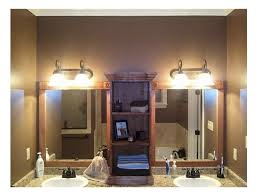 How To Frame A Bathroom Mirror With Crown Molding How To Frame A Bathroom Mirror