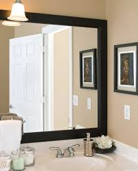 how to frame a bathroom mirror with clips bathroom mirror frames bathroom mirror vanity mirror frame