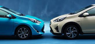 crossover toyota toyota prius c gets crossover update in japan update photos 1