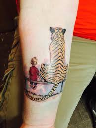 first one calvin and hobbes by austin at long shot tattoo in