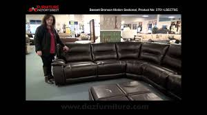 motion sofas and sectionals bassett bronson sectional youtube