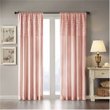 Single Window Curtain by Lush Decor Avery Curtain Panel Pair Walmart Com