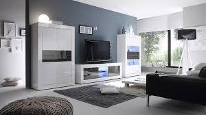 Wohnzimmerm El Mit Led Wohnwand Weiß Anthrazit Hochglanz Lack Caserta37 Designermöbel