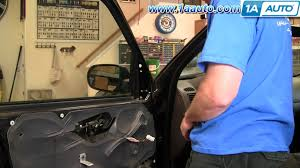 ford explorer mirror replacement how to install replace side rear view mirror ford escape mercury