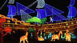 christmas light festival near me longleat festival of light 2017 official opening youtube