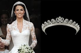 kate middleton wedding tiara see the cartier tiara worn by kate middleton at wedding