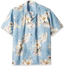 Tropical Clothes For Travel Amazon Com Plumeria Hibiscus Hawaiian Shirts Aloha Shirt Hawaiian