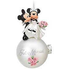 mickey minnie happily after ornament home