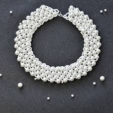 bead pearl bracelet images Pearl jewelry design how to make a handmade white pearl bead jpg
