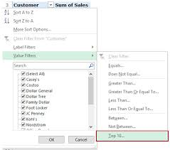 What Is A Pivot Table Excel How To Filter Data In A Pivot Table In Excel