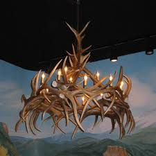 Antler Chandelier Net Real Antler Chandeliers