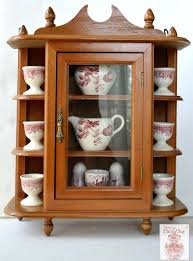 are curio cabinets out of style english chippendale style wood hanging wall curio cabinet display