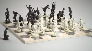 hand crafted chess set omg gimme