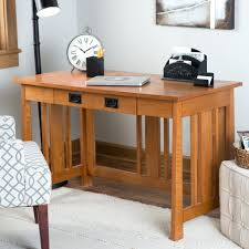 desk chairs living mission writing desk optional hutch style oak