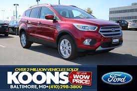 Ford Escape Ecoboost - 2018 ford escape titanium 4wd for sale sterling va