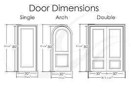 Standard Door Width Exterior Average Door Width Standard Interior Door Width Center Divinity