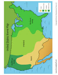 biomes map united states biome map tim s printables